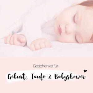 Geburt, Taufe & Babyshower