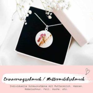 Erinnerungsschmuck / Muttermilchschmuck