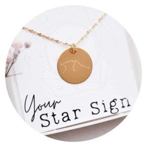 Sternzeichen Schmuck