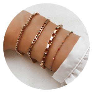 Armbänder ohne Gravur